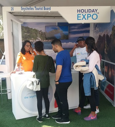 Guests visiting the stand at Holiday Expo.jpg