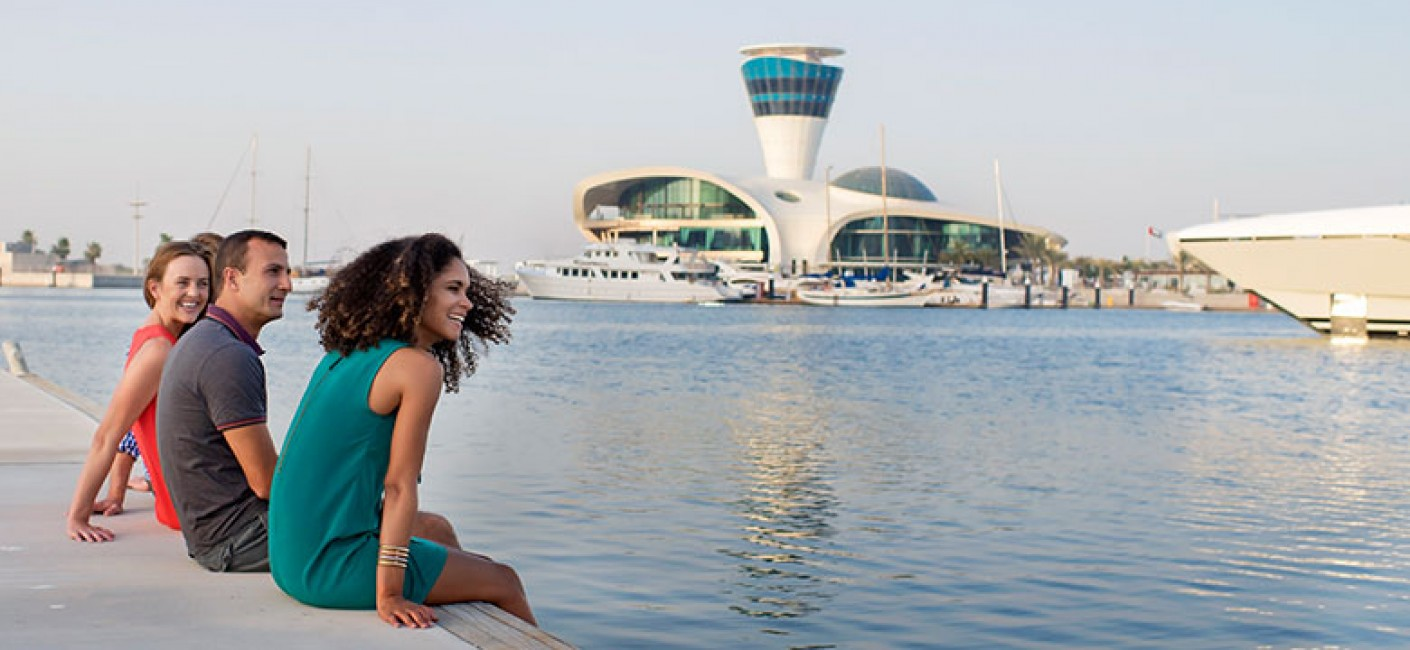 Abu Dhabi with Air Seychelles