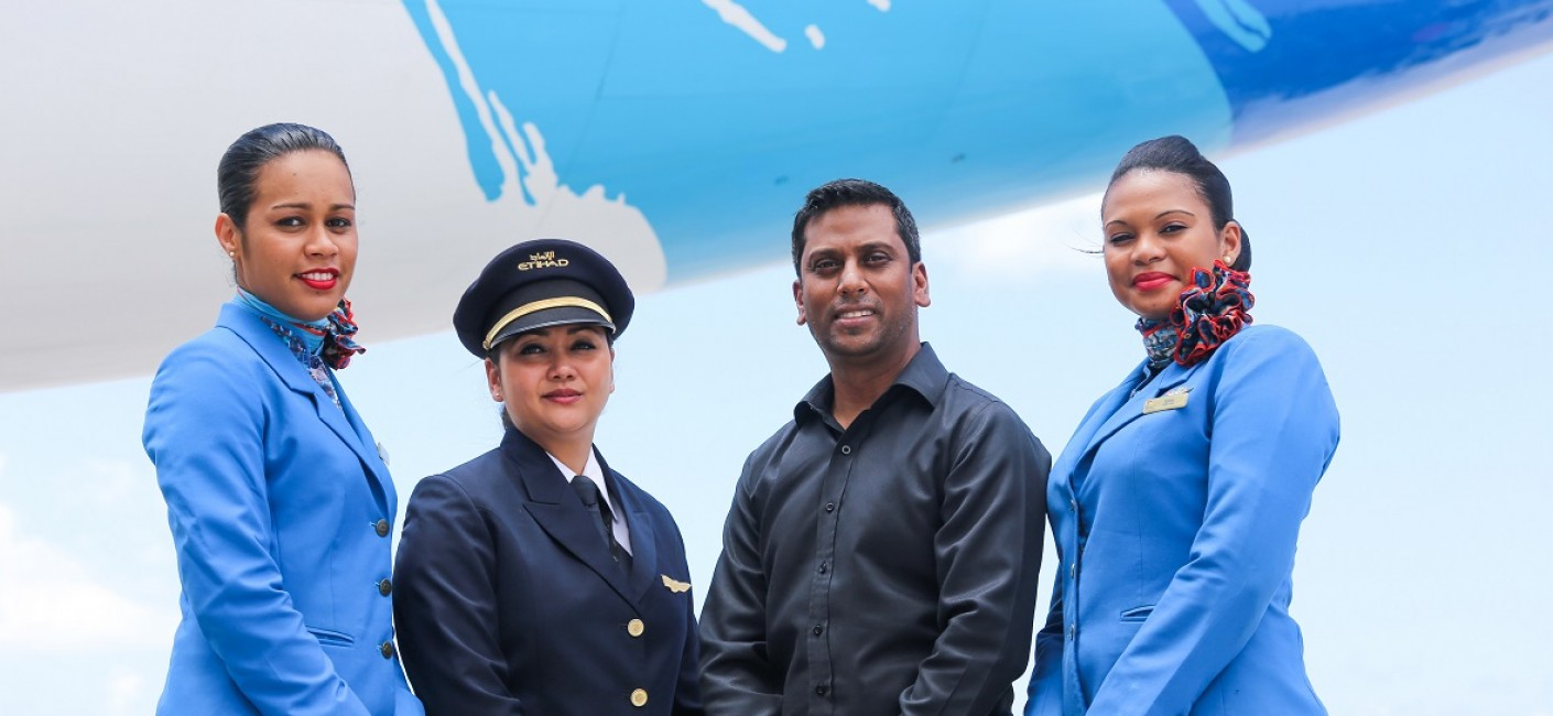 Manoj Papa, Chief Executive Officer of Air Seychelles, announces a third year of consecutive profit