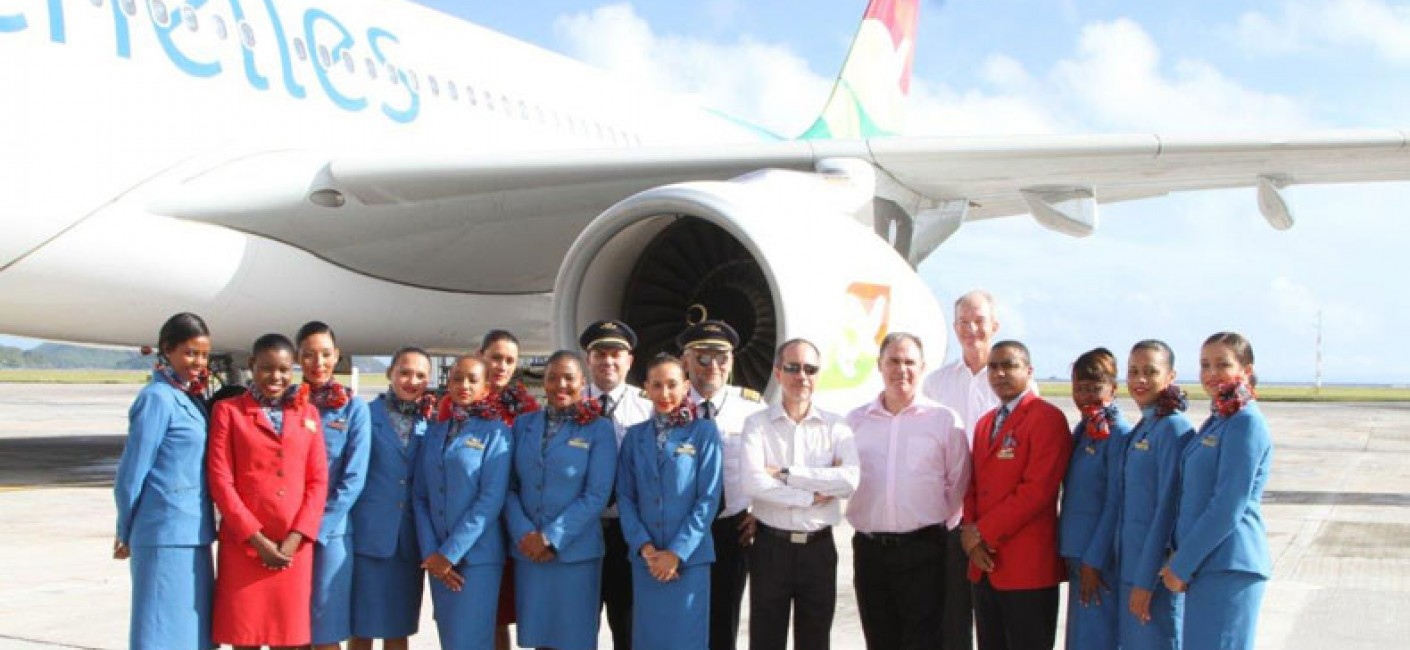 Air Seychelles Chairman, CEO and cabin crew