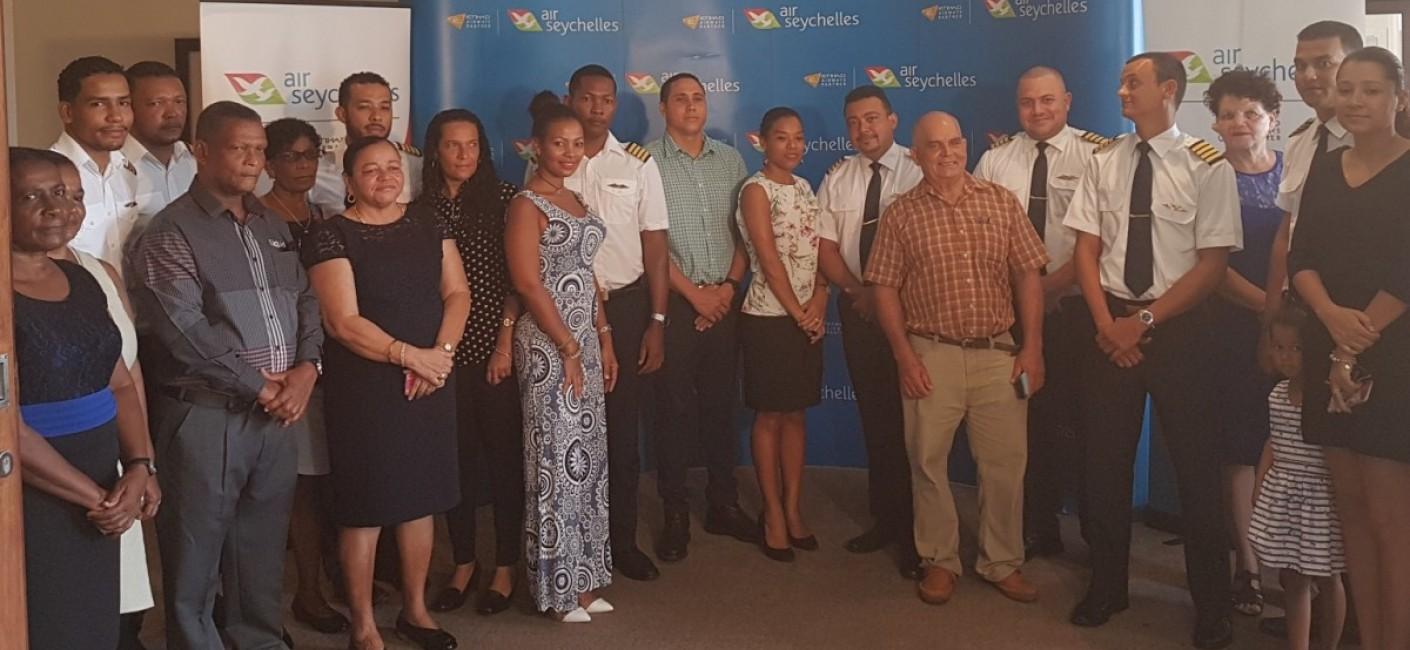 Air Seychelles promotes eight Seychellois Pilots to Captain