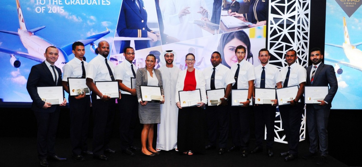 Air Seychelles Chief Financial Officer, Abdulmohsen Al Sayegh among the young Seychellois graduates.