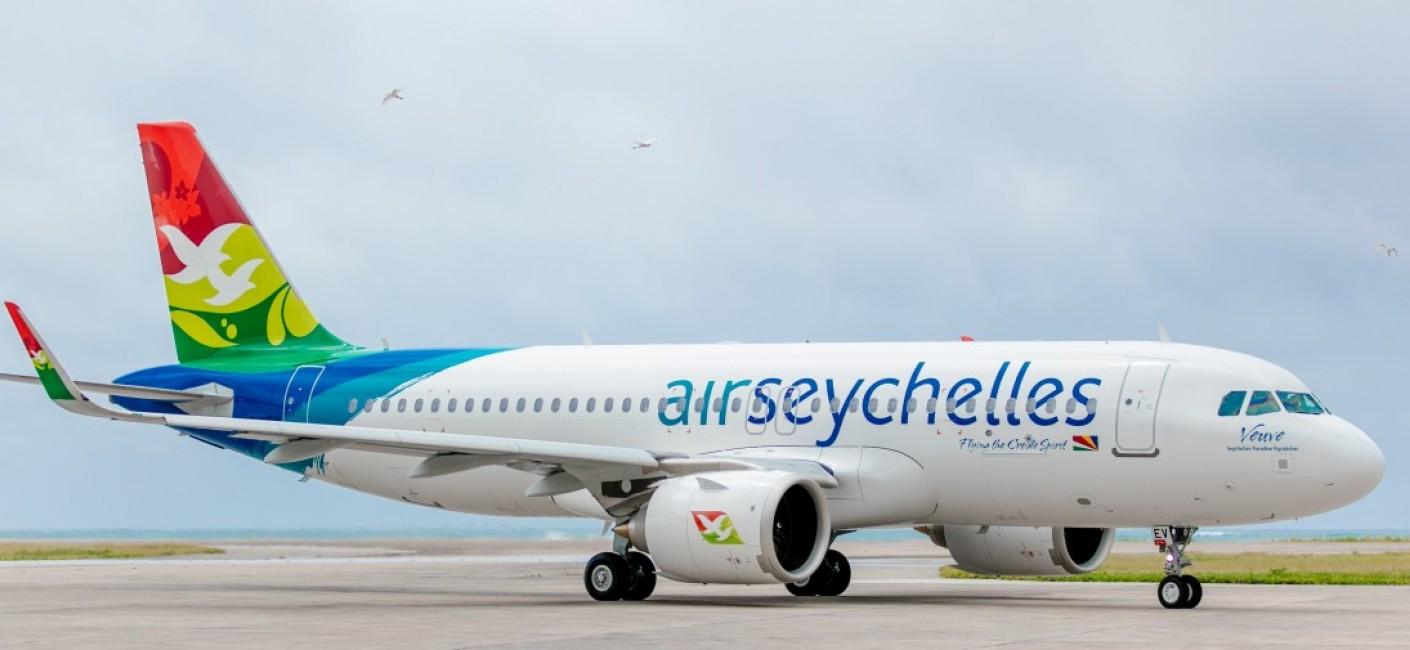 Air Seychelles A320neo aircraft