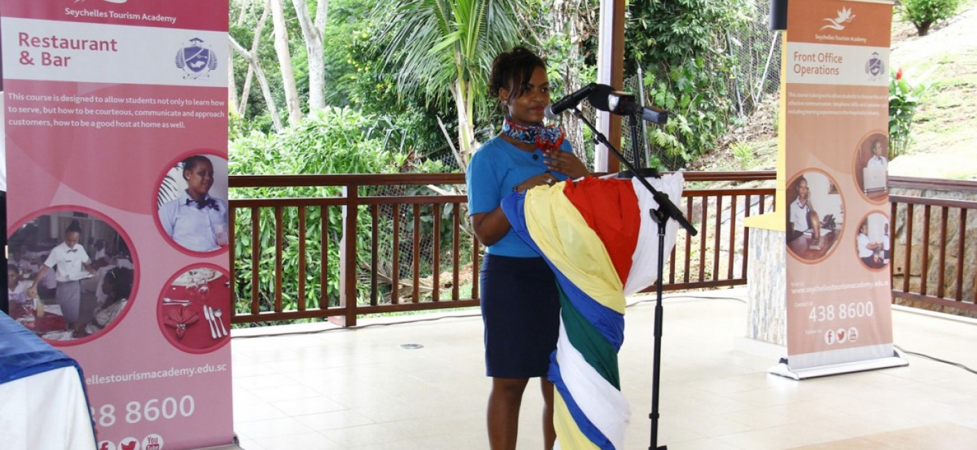 Gabriella Nourice, an STA graduate who is now working as a Guest Service Agent in Air Seychelles, speaks about her work placement experience at Air Seychelles