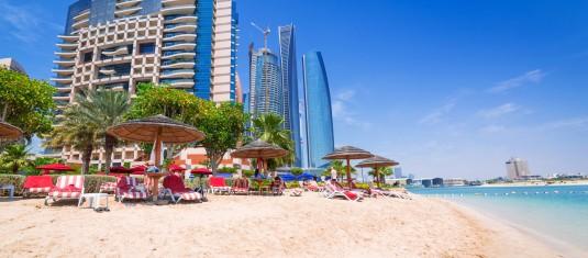 Abu Dhabi with Air Seychelles